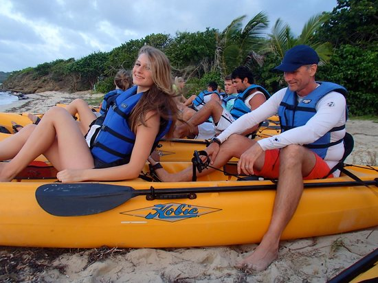 Virgin Kayak Tours: Members of our group