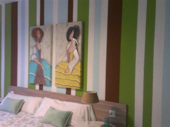 Apartamentos Iruna: Camas