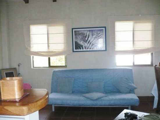 Hotel Popoyo: Living room