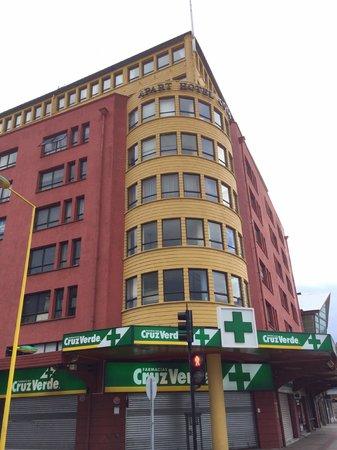 Apart Hotel Colon: Внешний вид. Отель на 7 этаже.