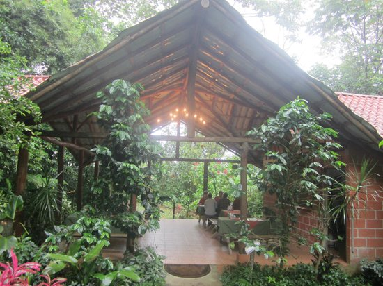 Arenal Oasis Eco Lodge & Wildlife Refuge: Eating area