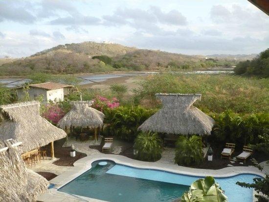 Hotel Popoyo : View from kitchen window