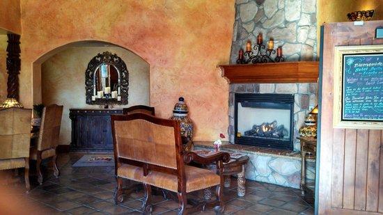 Avila La Fonda Hotel: Sitting area