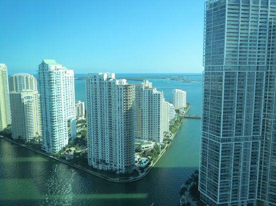 JW Marriott Marquis Miami: view from room