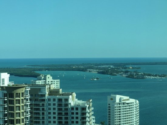 JW Marriott Marquis Miami: view from room 3501