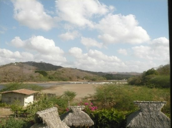 Tola, Nicaragua: View from the bedroom window