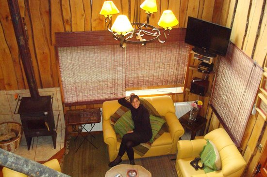 Cabañas Natural Park Lodge: Cabañas con doble altura