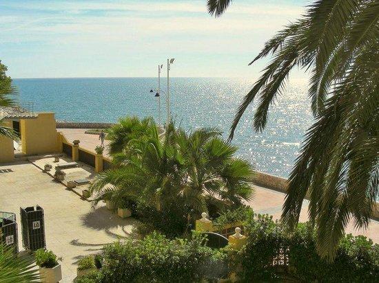 Tryp Malaga Guadalmar Hotel : Mediterranean Sea