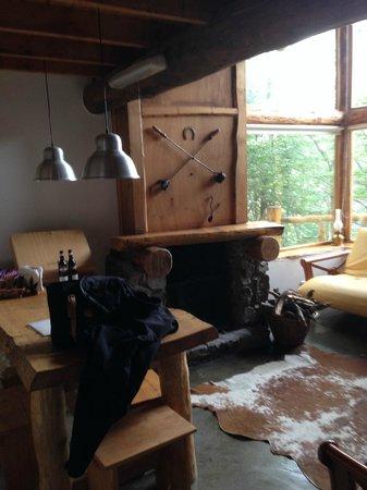 Patagonia Villa: Inside
