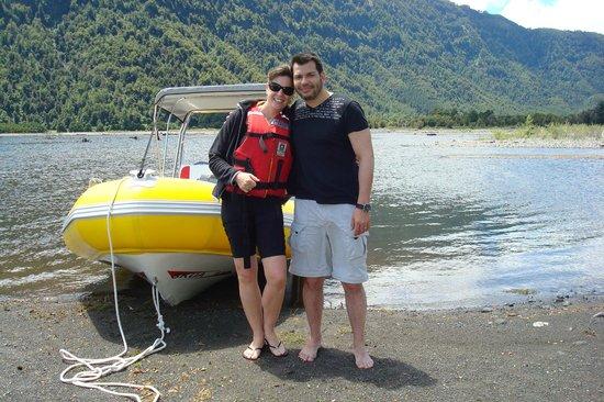Cabañas Natural Park Lodge: Visita al Lago Caburga