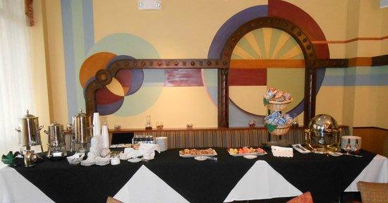Hotel Baker: Continental breakfast