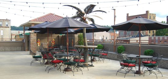 The Chestnut Boutique Hotel: Rooftop Seating and Event Space