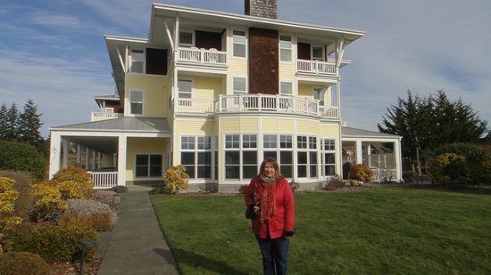 The Resort at Port Ludlow: south side of the hotel