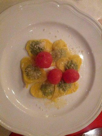 Hotel Feldthurnerhof : Ravioli di San Valentino