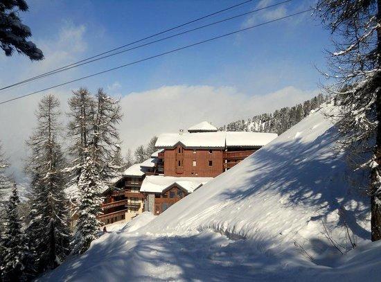 Residence Aspen Lagrange Prestige : Retour ski aux pieds