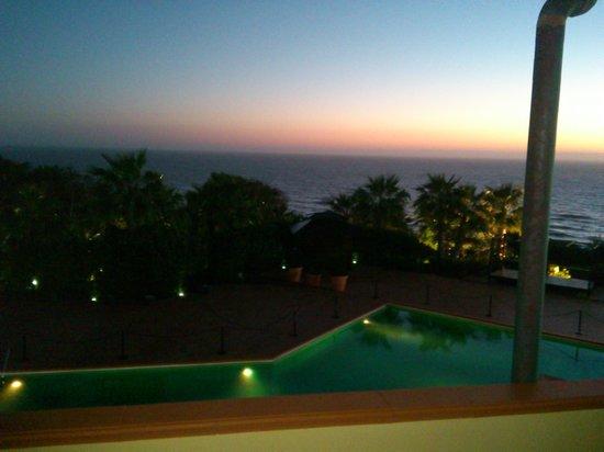 Baia di Ulisse Wellness & SPA: bellissimo tramonto