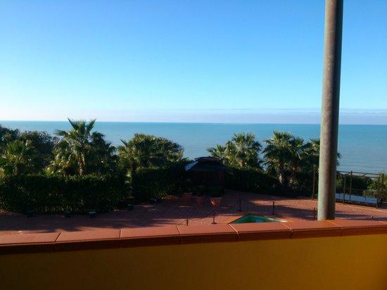 Baia di Ulisse Wellness & SPA : vista mare dalla stanza