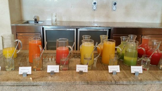 Ingredients: juice bar
