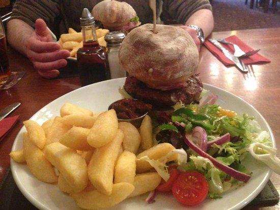 The Albert: Albert Burger, delicious!