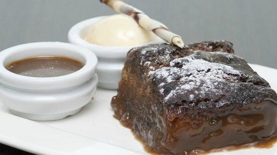 Crosby Lakeside Lodge: Sticky Toffee Pudding - All our desserts are homemade