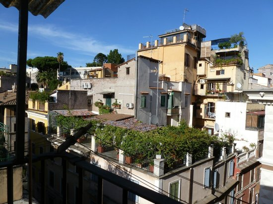 Hotel Grifo: Blick von der Dachterrasse