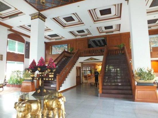 The Park Hotel: hall d' entrée