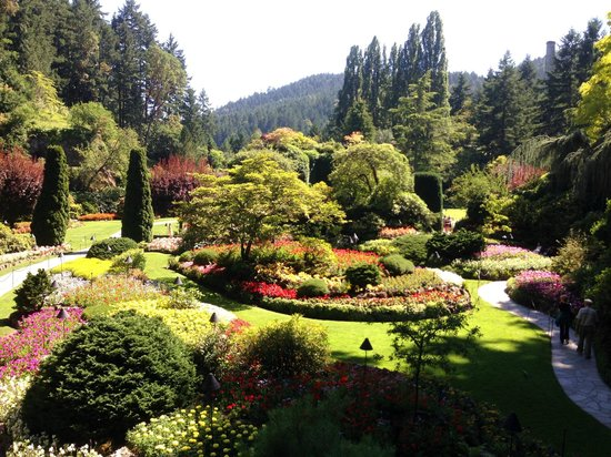 The Butchart Gardens : The 'centre piece'