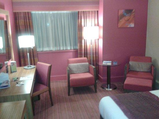 Ashford International Hotel: Sitting area