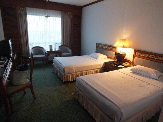 The Park Hotel: Vue de la chambre