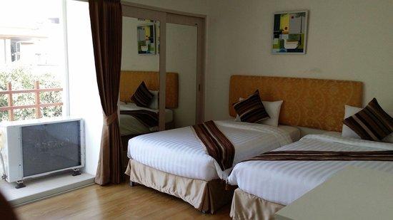 iCheck Inn Residences Sathorn: Bedroom 1