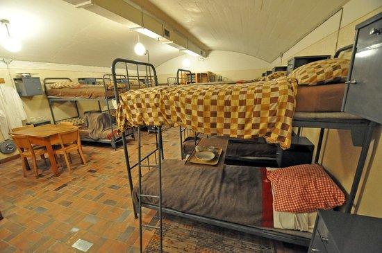 Fondation Forteresse Historique : La salle de repos, un luxe