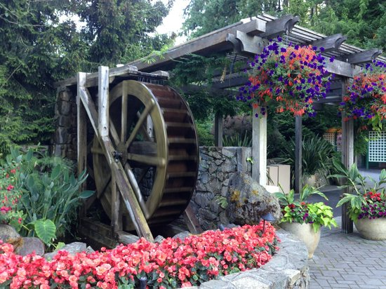The Butchart Gardens: entrance
