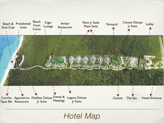 Blue Diamond Riviera Maya: plan de l'hotel