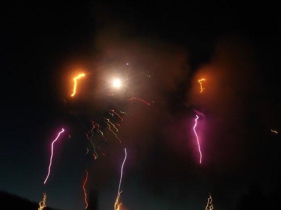 The Butchart Gardens: fireworks