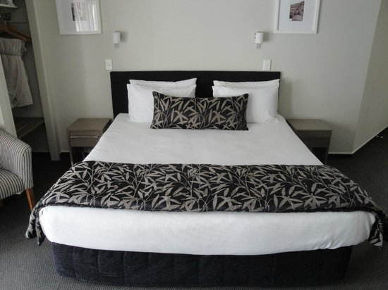 Silver Fern Rotorua - Accommodation and Spa: Comfortable bed