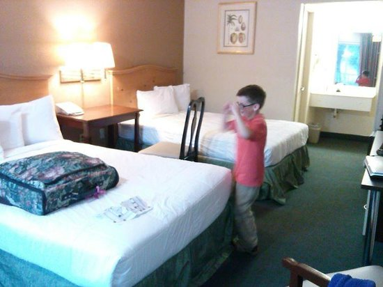 Roomba Inn & Suites Orlando: Standard 2 doubles room
