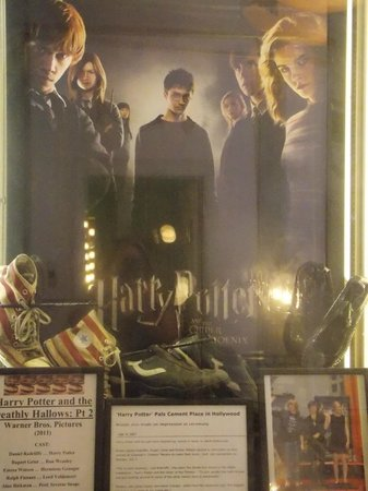 The Hollywood Museum: Cimeli harry potter