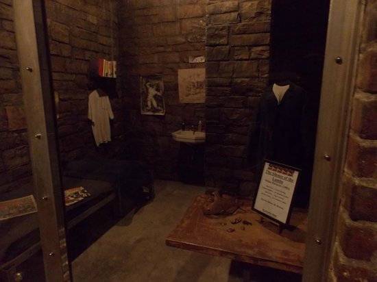 The Hollywood Museum: Cella di Hannnibal lecter