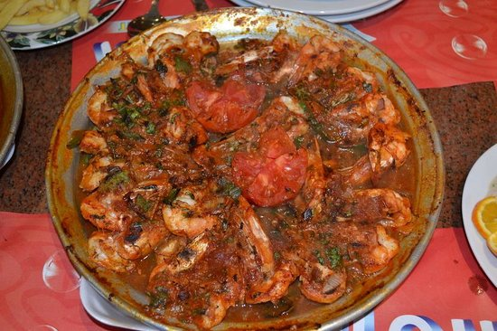 "El Halaka : Jumbo Shrimp ""Egyptian style"""
