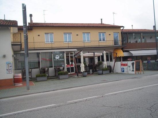 Hotel Gronda Lagunare: fronte hotel