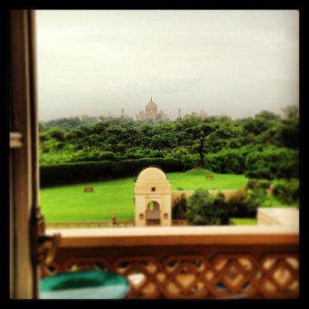 The Oberoi Amarvilas : Balcony & Taj
