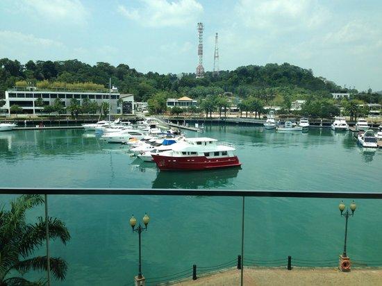 W Singapore Sentosa Cove: Marina view