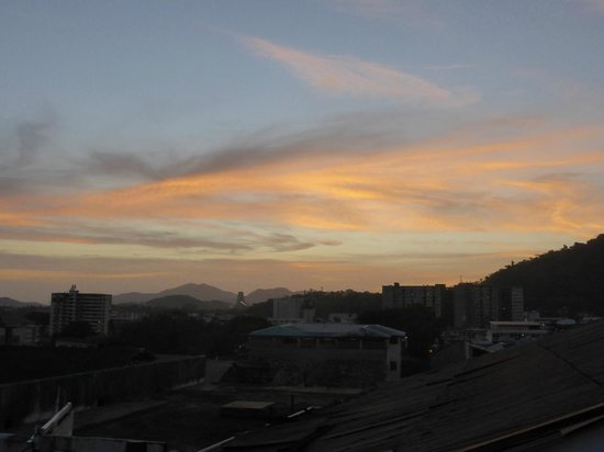 Casco Antiguo: Sunset from the rooftop