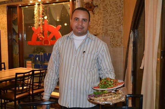 El Mina Restaurant : Our Server