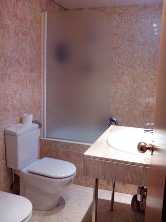 Hotel Les Closes: Baño