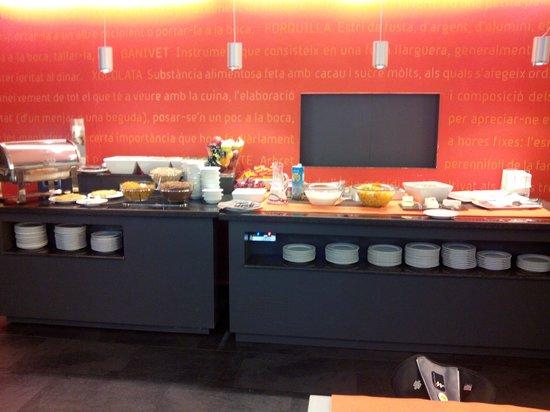Hotel Les Closes: Buffet desayuno
