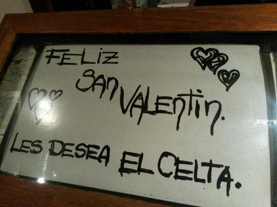 El Celta Restaurant: entrada