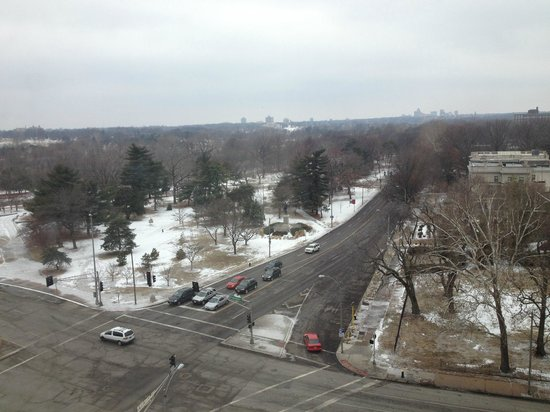 The Chase Park Plaza : View of Forest Park