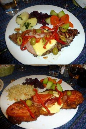 Guajimbo's: Steak and chicken