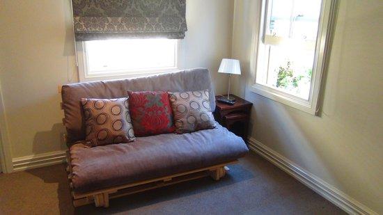 Wellington City Cottages: Very quiet place